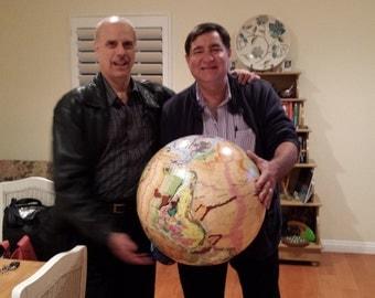 Geological Globe of the World