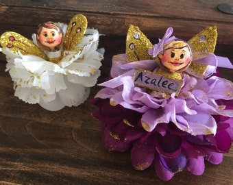 Hand painted customizable Angel/Fairy ornament