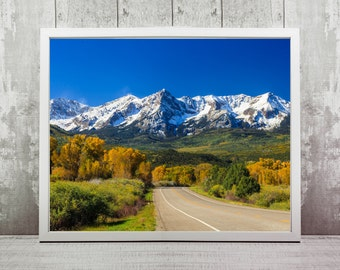 Colorado Print, Instant Download, Travel Photography, Home Decor, Wall Art, Travel Prints, Mountains, Travel Photography