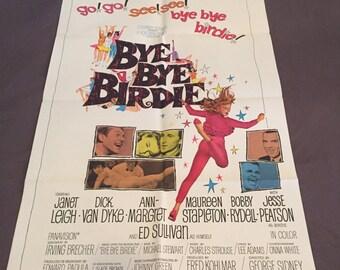 BYE BYE BIRDIE - Rare Vintage Movie Poster