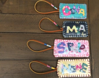 Name,custom made,name tag,suitcase,backpack and luggage bag tag