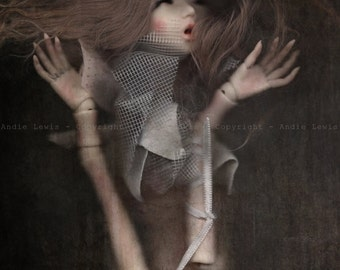 """Simple print A3 """"Claustrophobia"""" - photography, art collection print deco No. phobia Pullip doll BJD"""