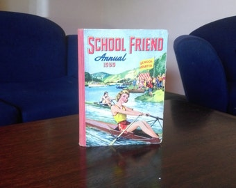For vintage lovers:  School friend Annual 1959
