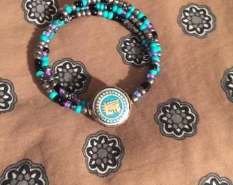 Boho Aztec Style Wrap Bracelet