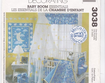 McCall's Pattern 3038, Baby Room Essentials ONE Size (cut)