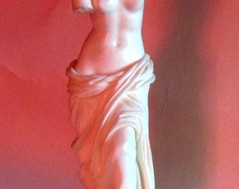 Alabaster Venus de Milo statue