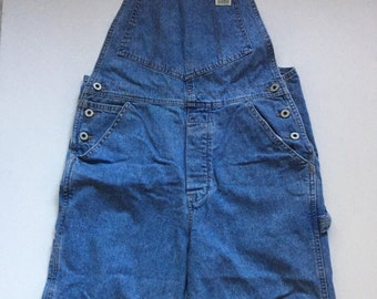 Vintage GUESS Overalls 90's Denim overalls size 31