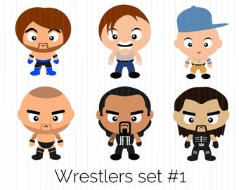 Wrestling Clipart Wyatt Family Braun Strowman by CozyBearStudio