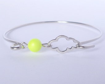 Bracelet band cloud and his yellow Pearl