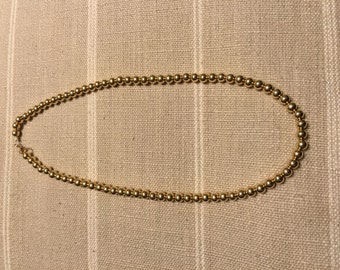 5mm Gold Filled Add-A-Bead necklace