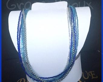 Necklace Blue Marine
