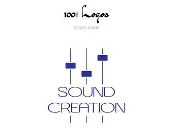 Custom Logo Design - Sound and creation