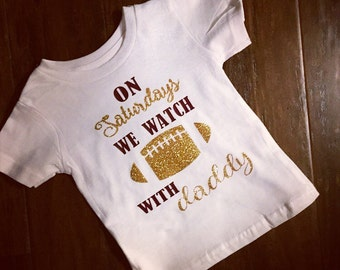 Customizeable toddler football T