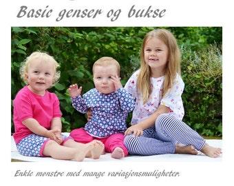 Basic genser og bukse Mønsterpakke
