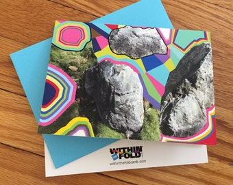 Rocks and Things Greeting Card - Note card