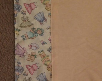 Baby burp cloth or travel diaper changing cloth