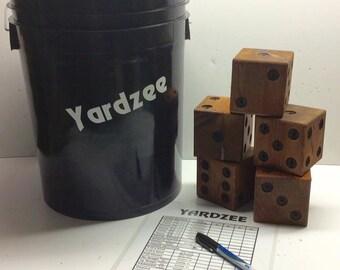 Yardzee Backyard Yahtzee Dice Game
