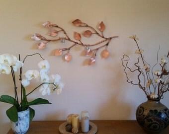 Decorative branch of high-quality copper tea light