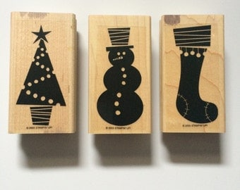 Stampin' Up! Holiday stamps