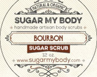 Bourbon Sugar Body Scrub - Man Scent | Get Rid of Dry Skin