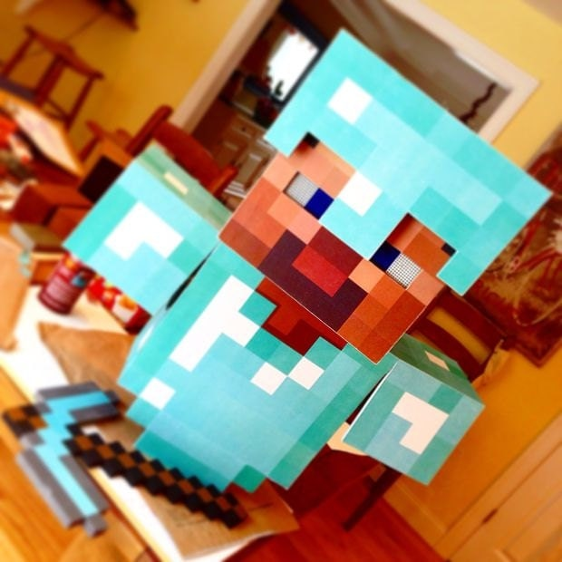 Make your own minecraft armor