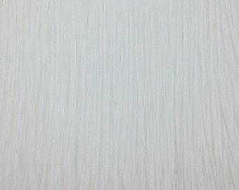 "Chainette Fringe 32""Long White(Price per yard )"