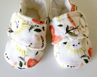 Dreamy Spring Baby Girl Soft Shoes