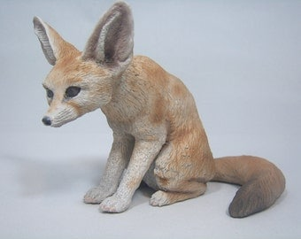 Fennec fox figurine No. 1