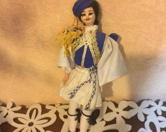 Doll vintage Romania folklore