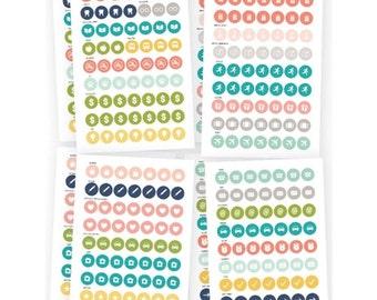 Simple Stories POSH Calendar Stickers
