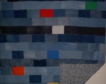 Denim Full-size Quilt