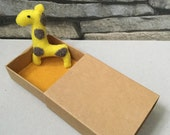 Jose Giraffe Matchbox Toy