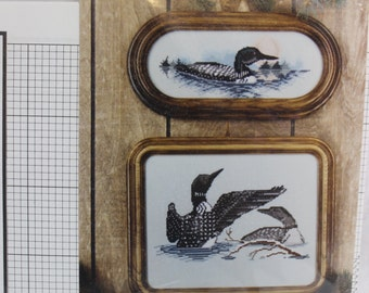 Old Lakewood Counted Cross Stitch Designs-Ducks-Instructions Only