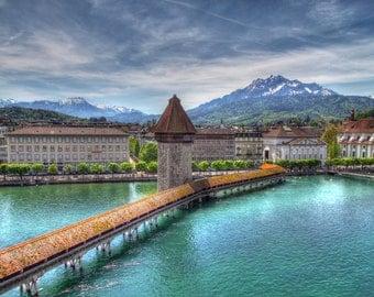 Lucerne, Switzerland Canvas Wrap