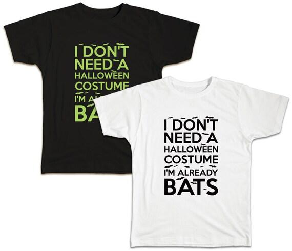 Already Bats Halloween T-Shirt
