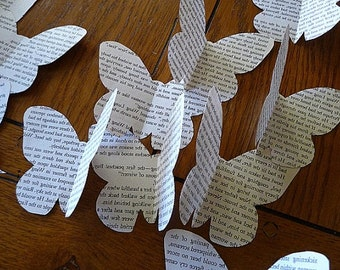 Butterfly Paper Cut Out,
