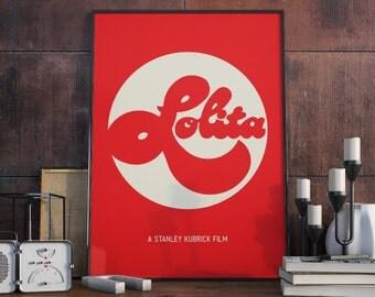 Art Prints, posters, film posters, kubrick poster, lolita poster
