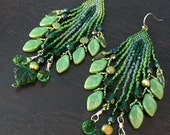 Garden Gate - Fantasy Fringe Earrings