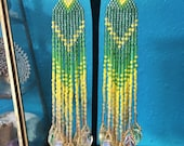 Buttercup - Ombre Fringe Earrings