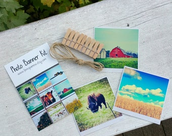 Prairie Vignettes Photo Banner Kit