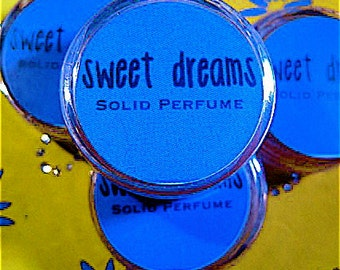Sweet Dreams Patchouli Solid Perfume