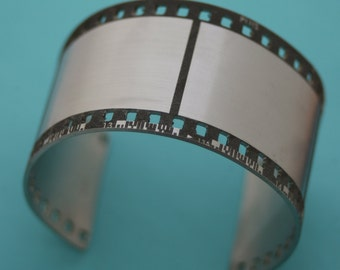 35mm film strip cuff bracelet
