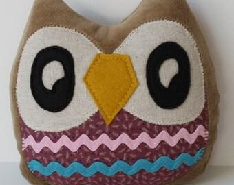 Mysti the Owlet little owl pillow plushie