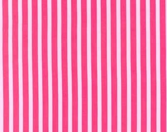 One yard - Clown Stripe in Girl - Michael Miller cotton quilt fabric
