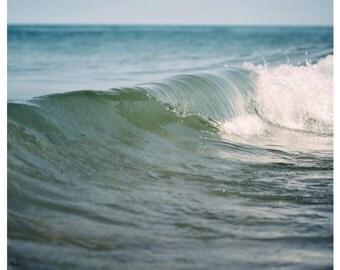 Water Photograph - Nature Photography - Michigan Art - Beach Print - Beach Art - Summer Art - Fine Art Photograph - Waves - Break Of Day #6
