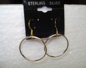 Hoop Earrings With Gold Filled Ear Wires