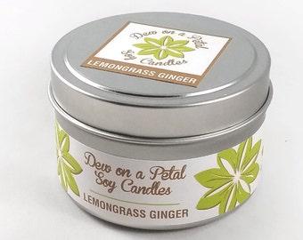 Lemongrass Ginger Travel Tin 6 oz