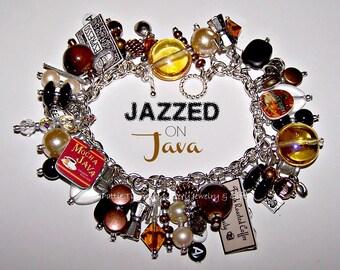 JAZZED ON JAVA Coffee-Lover's Charm Bracelet