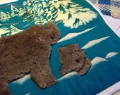 Fuzzy Bear tote bag for the lovely Deb Whitney!!