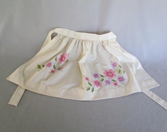 Beautiful Hand Embroidered Apron